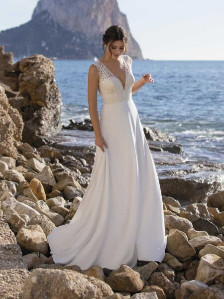 vestido de novia Vinie de White One