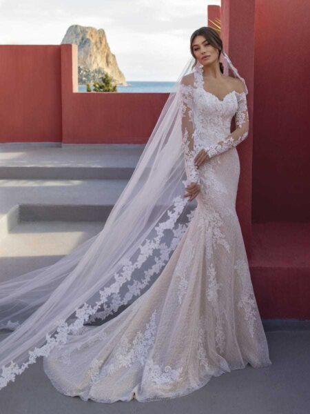 vestido de novia modelo lily