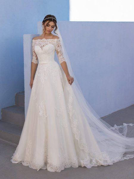 vestidos de novia modelo ossa