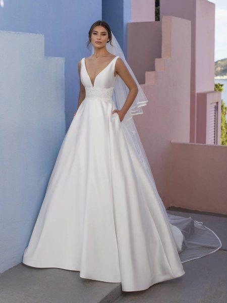 vestido de novia modelo senna