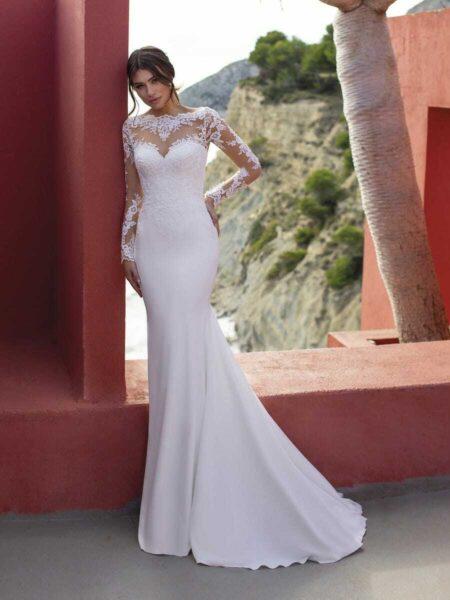 vestido de novia modelo starflower del grupo pronovias firma white one