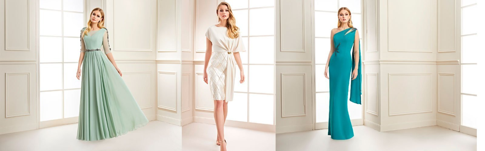 elegantes y preciosos vestidos de fiesta ideal para madre de novia