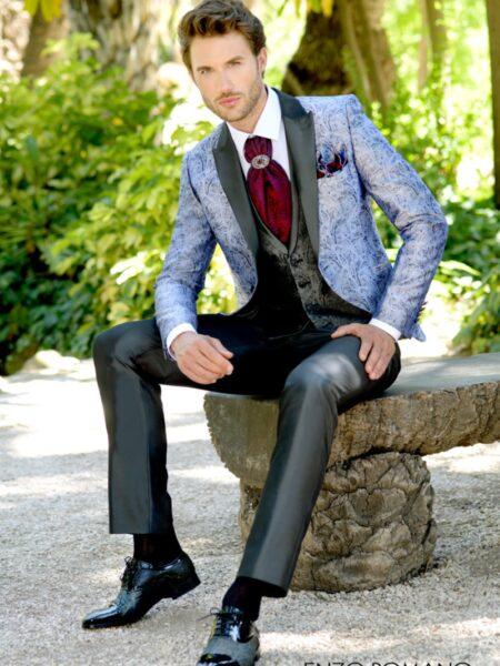 traje de novio enzo romano modelo 1-1412