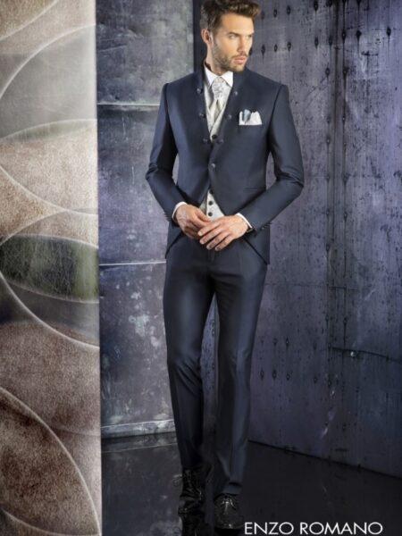 traje de novio semilevita modelo 95-2559 enzo romano