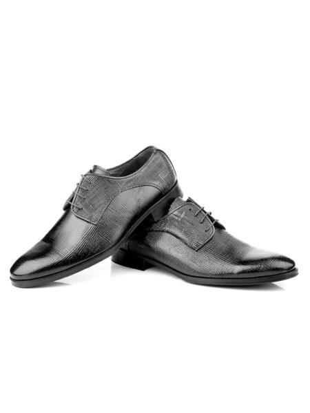 Zapato de Novio en charol rayado modelo 6154 de Enzo Romano