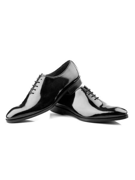 Zapato de novio charol liso modelo 6155 enzo romano