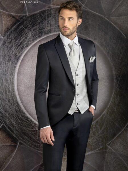 traje de novio clásico en semilevita modelo 6229 enzo romano