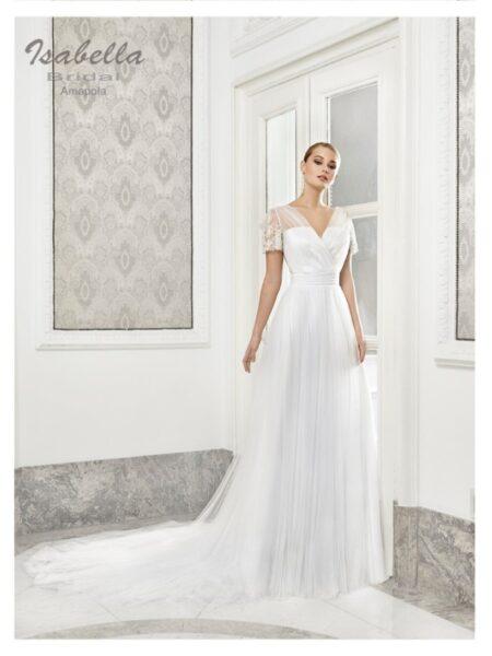 vestido de novia modelo amapola de isabella bridal