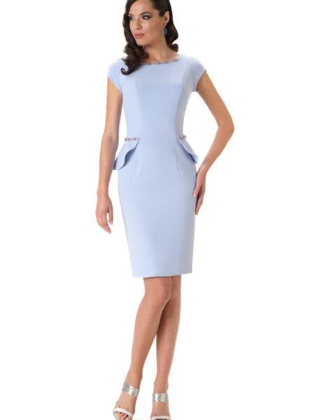 vestido corto de fiesta modelo kenedy de la firma bámbola