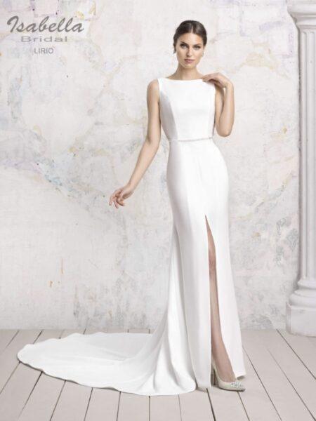 vestido de novia sirena sexy modelo lirio isabella bridal