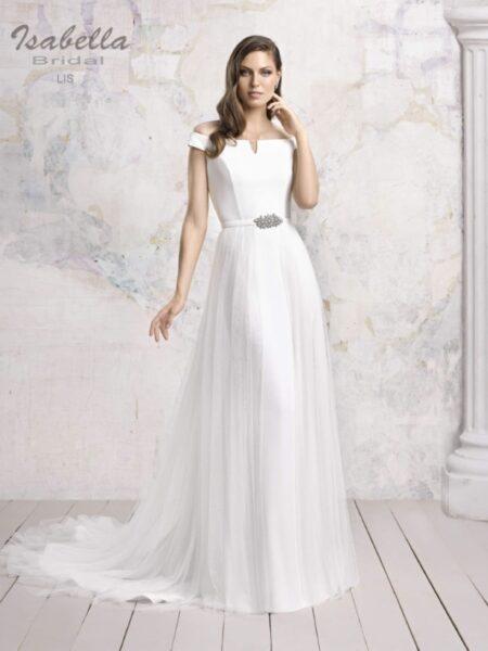 vestido de novia modelo lis de isabella bridal