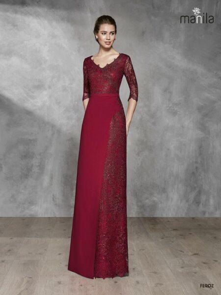 vestido de madrina modelo feroz de manila disponible en Moda Pureza de Jódar - Jaén