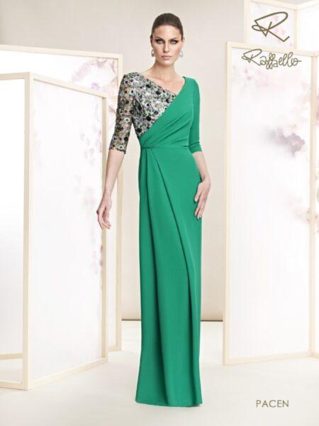 Vestido de madrina modelo pacen de raffaello 2021