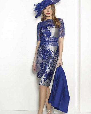 ‼️NUEVO VESTIDO DE FIESTA EXCLUSIVO‼️ 👗Vestido corto de fiesta en tejido mikado de seda estampado en tonos grises y azul tinta con la parte del escote en encaje. SIN CHAQUETA COMPAÑERA #modapureza #yomevistoenpureza #fiesta #bodas #vestidosdefiesta #vestidoscortos #wedding #nuevacoleccionfiesta #fashion #style #model #shopping #moda #exclusivo #españa #Andalucia #jaen #jodar
