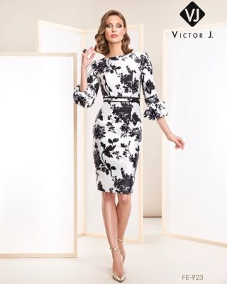 ‼️VESTIDOS DE FIESTA EXCLUSIVOS‼️ 👗 Precioso vestido de fiesta corto ideal para madres de comunión o invitadas de boda, confeccionado en tejido estampado floral en color blanco con flores en negro y en tejido de mikado. #modapureza #yomevistoenpureza #fiesta #moda #vistetedepureza #exclusivo #elegante #juvenil #vestidosdefiesta #fashion #style #fashionstyle #wedding #bodas #boda #comuniones #model #shopping #españa #andalucia #jaen #jodar