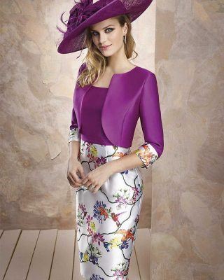 ‼️NUEVA COLECCIÓN FIESTA EXCLUSIVA‼️ 👗 VESTIDO FIESTA CORTO ESTAMPADO MIKADO SEDA CON CHAQUETA #modapureza #yomevistoenpureza #fiesta #bodas #boda #vestidosdefiesta #vestidoscocktail #madresdecomunion #fashion #exclusivo #glamour #style #fashionstyle #model #moda #shopping #wedding #españa #andalucia #jaaen #jodar