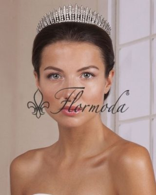"‼️TIARA DE NOVIA‼️ ⭐️♥️ Tiara de estilo fringe, también conocida como ""rayo de sol"" de origen griego. Está fabricada con cristal de alta calidad y metal rodiado en acabado plateado. Colores disponibles: crista Medidas: 4,2 x 14 cm #modapureza #tiaradenovia #novia #boda #complementosdenovia #shopping #españa #andalucia #jaen #jodar"